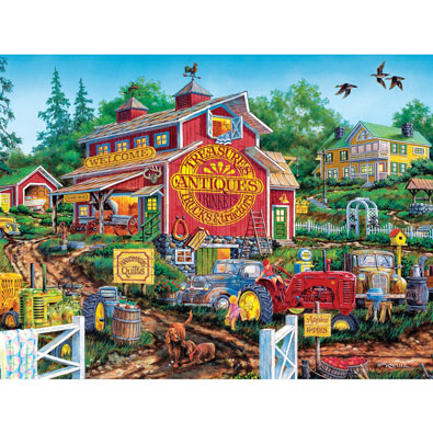Antique Barn 550 Piece Jigsaw Puzzle