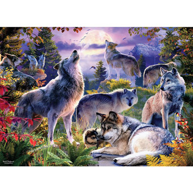 Wolf Pack 1000 Piece Jigsaw Puzzle