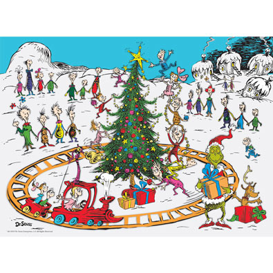 Whoville 100 Large Piece Jigsaw Puzzle