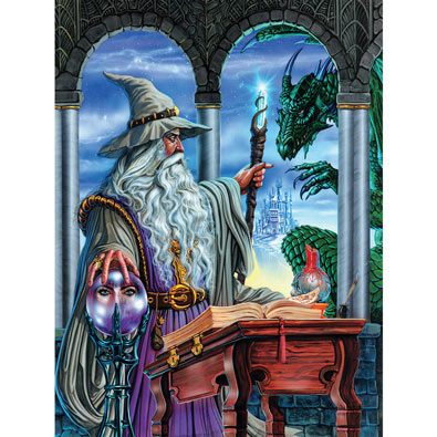 Wizard's Emissary 750 Piece Jigsaw Puzzle