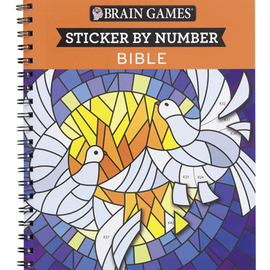 Sticker by Number Book - Bible