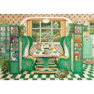 1940s Breakfast Nook 1000 Piece Jigsaw Puzzle
