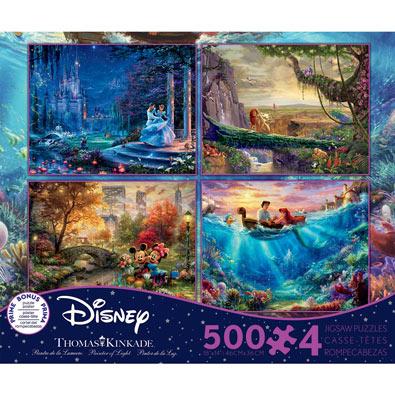 Kinkade Disney® 4 in 1 Multipack Set
