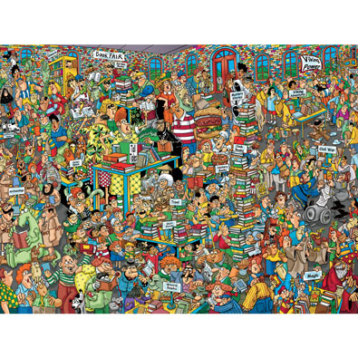Book Fair 750 Piece Jigsaw Puzzle