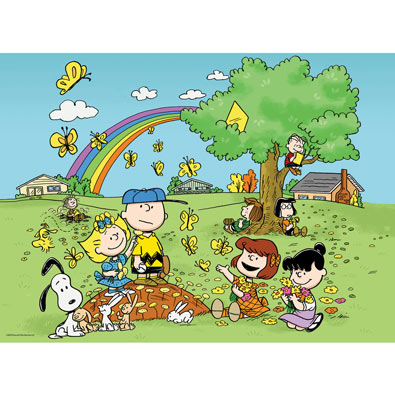 Springtime Fun 100 Large Piece Jigsaw Puzzle