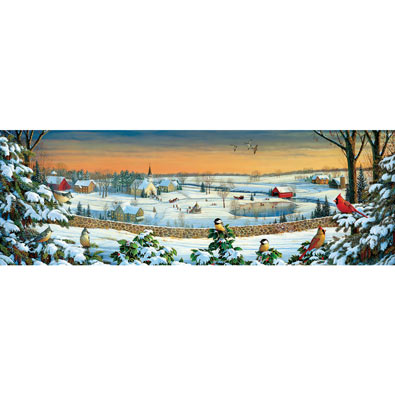 Winter Panorama 500 Piece Jigsaw Puzzle