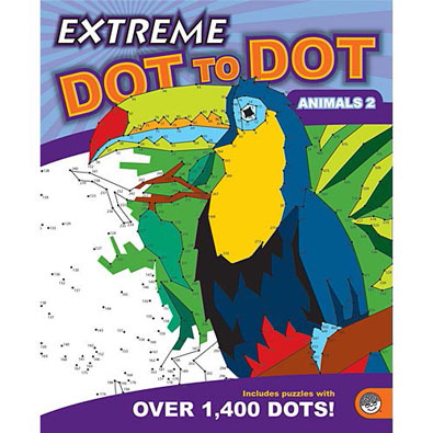 Extreme Dot-to-Dot Book - Animals 2