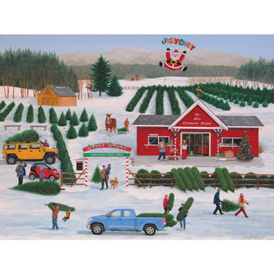 It's a Jolly Dolly Christmas 550 Piece Jigsaw Puzzle