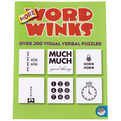 More Word Winks Puzzle Book