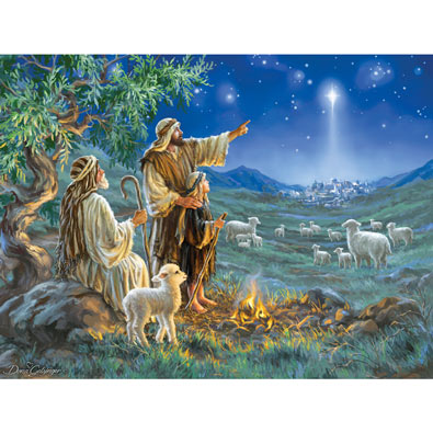 Shepherds Afield 550 Piece Jigsaw Puzzle