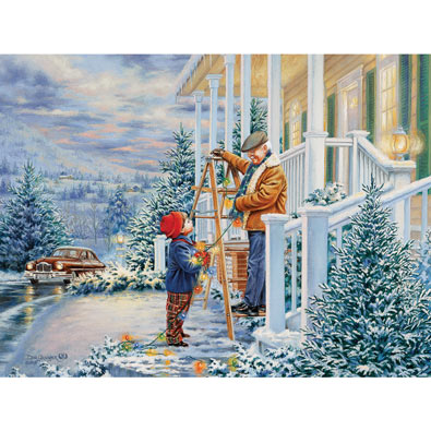 Colors of Christmas 550 Piece Jigsaw Puzzle