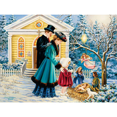 A Christmas Prayer 550 Piece Jigsaw Puzzle