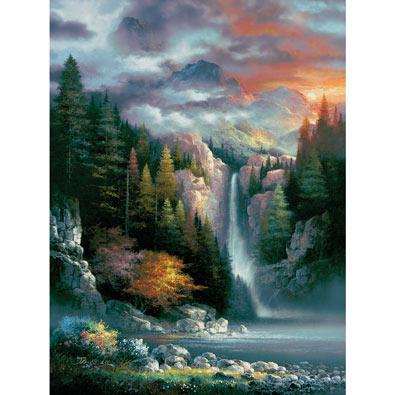 Misty Falls 1000 Piece Jigsaw Puzzle