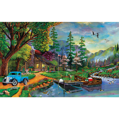Close to Paradise 300 Large Piece Jigsaw Puzzle