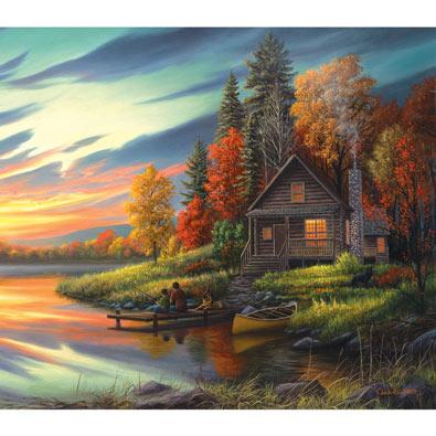 Lakeside Memories 550 Piece Jigsaw Puzzle