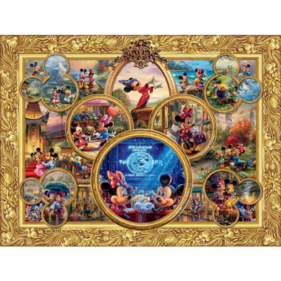 Disney Classics Collage 1500 Piece Collage Jigsaw Puzzle