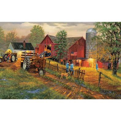 America's Heartland 300 Large Piece Jigsaw Puzzle
