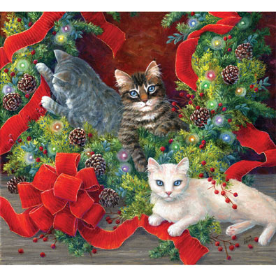 The Unmaking of the Wreath 550 Piece Jigsaw Puzzle