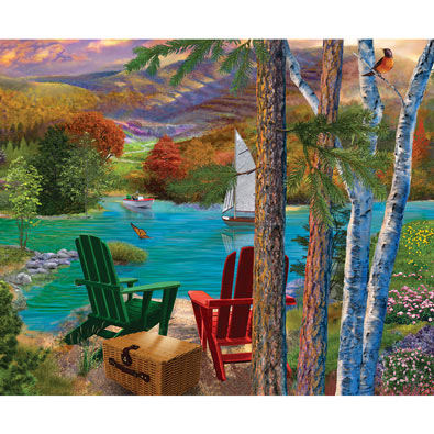 Lakeside View 1000 Piece Jigsaw Puzzle