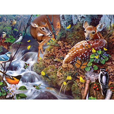 Fawn Song 1000 Piece Jigsaw Puzzle