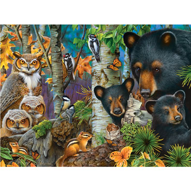A Family Gathering 1000 Piece Jigsaw Puzzle