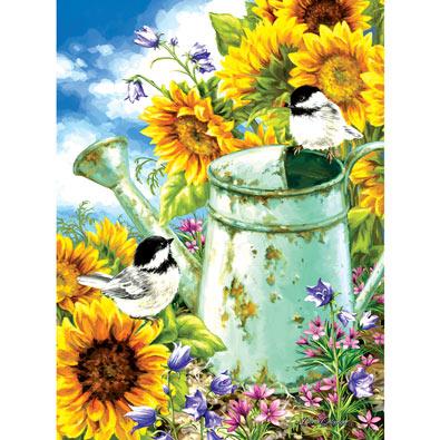 Sunflower Garden 300 Large Piece Jigsaw Puzzle