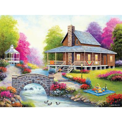 Spring Harmony 500 Piece Jigsaw Puzzle