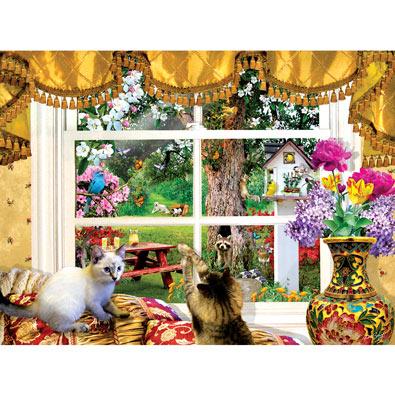 Through a Window 1000 Piece Jigsaw Puzzle