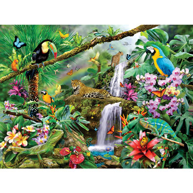 Tropical Holiday 1000 Piece Jigsaw Puzzle