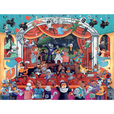 The Theater 300 Large Piece Jigsaw Puzzle