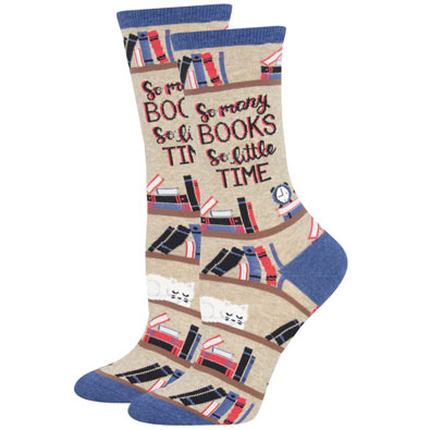 So Many Books Socks