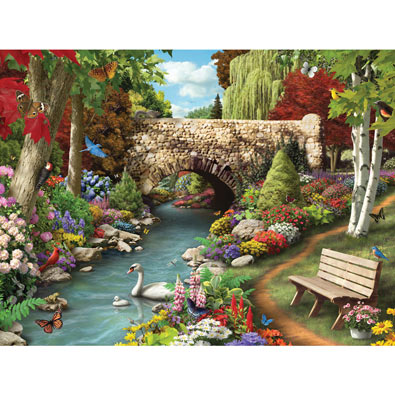 A Day in the Park 300 Large Piece Jigsaw Puzzle