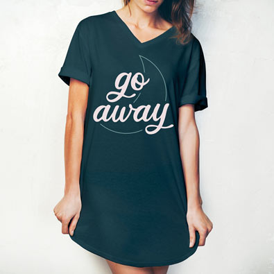 Go Away Sleep Shirt