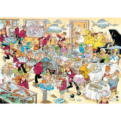 Seafood 500 Piece Jigsaw Puzzle