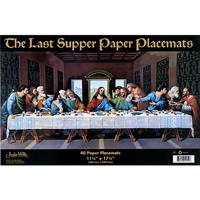 The Last Supper Placemats