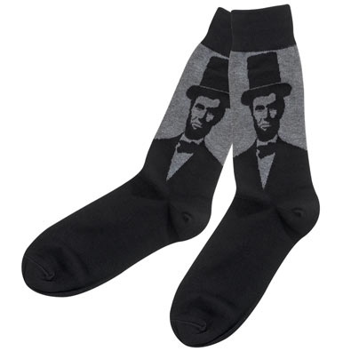 Abe Lincoln Socks