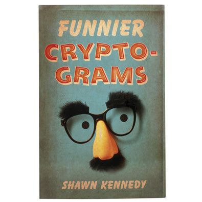 Cryptogram Puzzle Book: Funnier