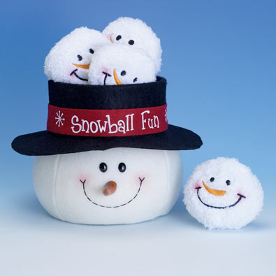 Indoor Snowball Fun Game