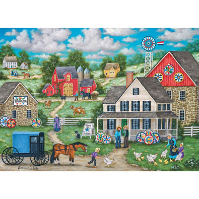 Johnny Ott's Hex Signs 1000 Piece Jigsaw Puzzle