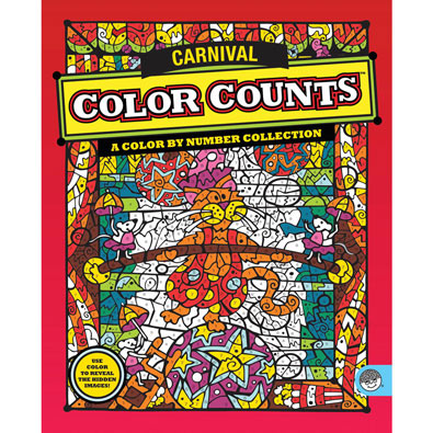 Color Counts Book - Carnival