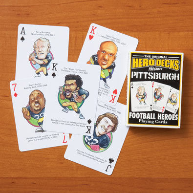 Pittsburgh Steelers - Football Heroes Playing Cards