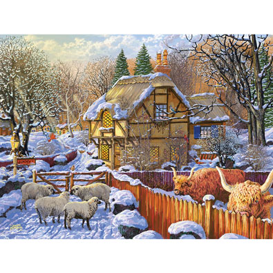 Busy Morning Already 500 Piece Jigsaw Puzzle