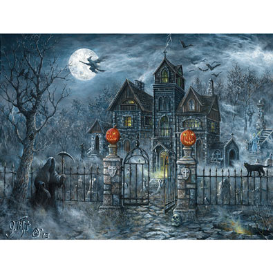 Uninvited Guest 500 Piece Jigsaw Puzzle