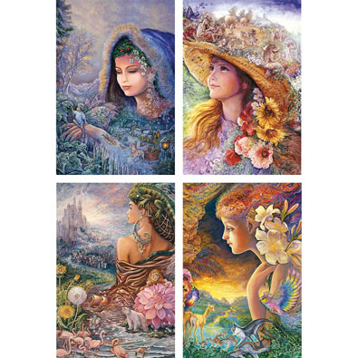 Set of 4: Josephine Wall Puzzles