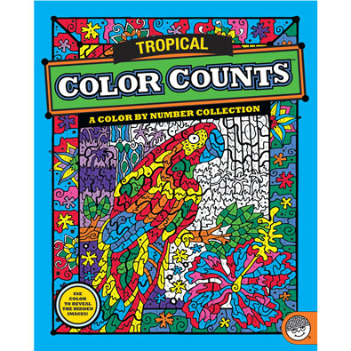 Tropical - Color Counts Book