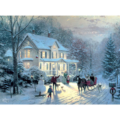 Home for the Holidays 1000 Piece Jigsaw Puzzle