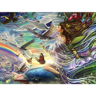 Sky Fairy Queen 750 Large Piece Jigsaw Puzzle Spilsbury
