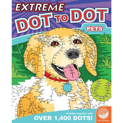 Pets - Extreme Dot to Dot Books