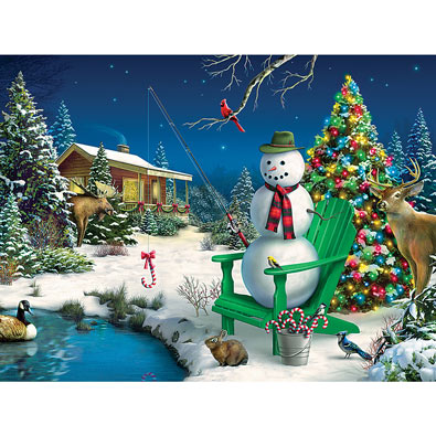 Sweet Holiday Dreams 750 Piece Jigsaw Puzzle