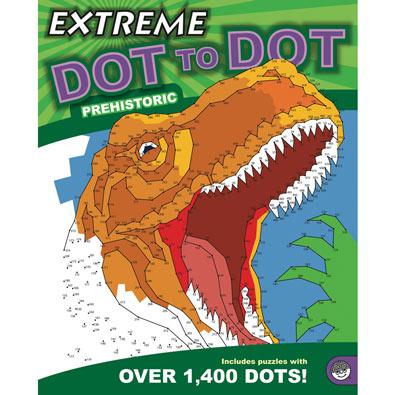Prehistoric - Extreme Dot to Dot Books